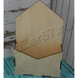 Кашпо конверт без логотипа