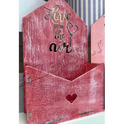 Купить кашпо конверт All you need is love