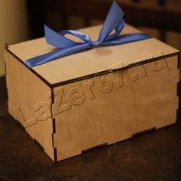 Коробка с крышкой большая