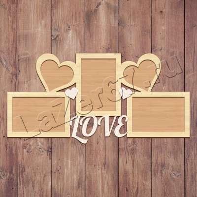 Фоторамка Love купить