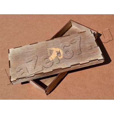 Деревянная счетница с накладной крышкой купить в Смоленске