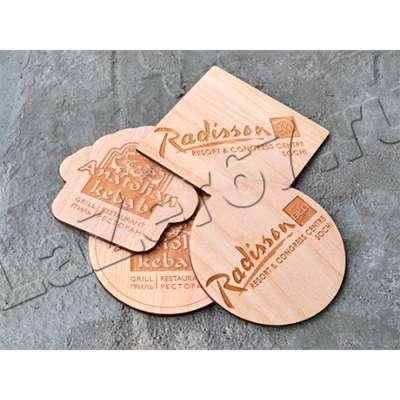 Деревянные костеры с логотипом  купить в Смоленске