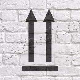 Трафарет «Стрелки вверх»