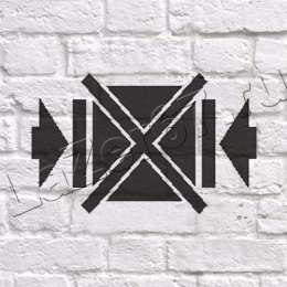 Трафарет «Не зажимать»