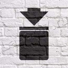 Трафарет «Штабелирование ограничено»