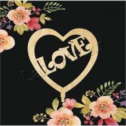"""Топпер для букета """"Love"""""""